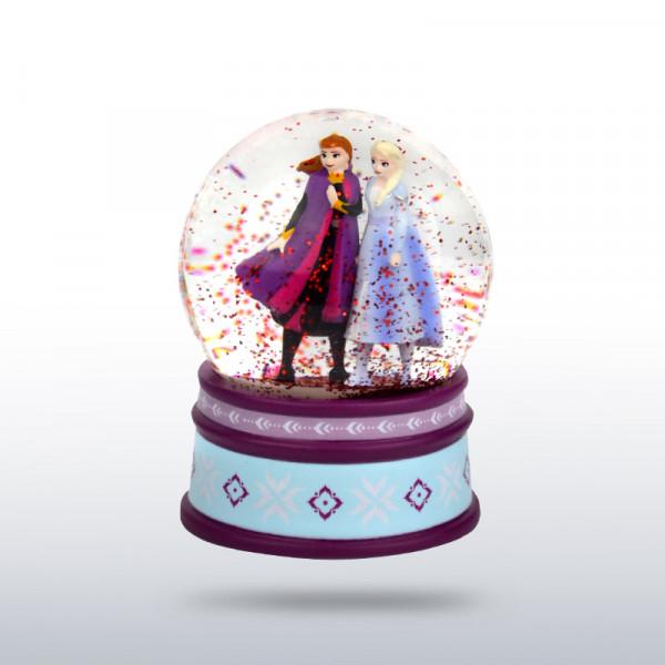 Schneekugel Frozen | Anna & Elsa