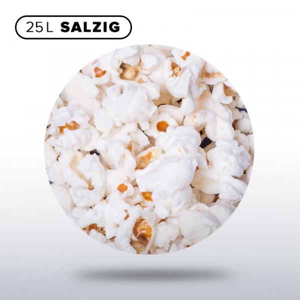 Popcorn 1/4 Sack, 25 Liter salzig