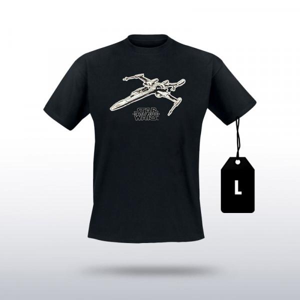 Star Wars - T-Shirt X-Wing (Größe L)