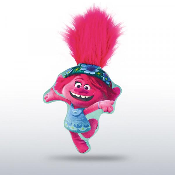 Trolls World Tour - Trolls Kissen pink