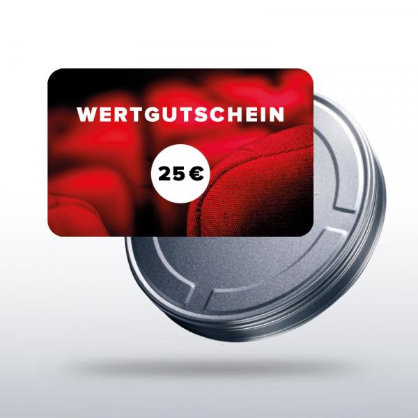 Wertgutschein 25 € - Standard