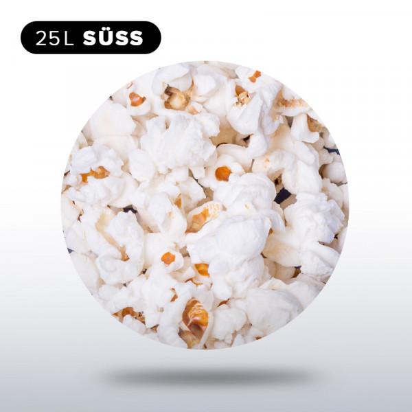 Popcorn 1/4 Sack, 25 Liter süß